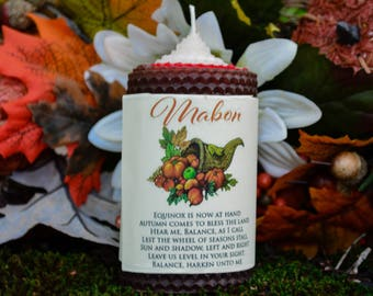 Mabon Candle~ For Illuminating the Shadows