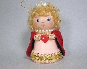 Princess Flowerpot Bell Ornament