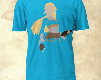 Princess Zelda Tshirt - Legend of Zelda: Breath of the Wild
