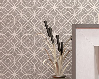 Moroccan Pattern Wall Stencil - Classic Design Stencil - Accent Wall Decorating Wall Stencil