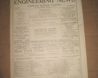 Engineering News magazine back issue dated 1897   {c4990o}
