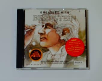 Größter Bernstein trifft CD - West Side Story - Candide - auf der Stadt - John Williams - Bühne und Bildschirm - Sony 1994 - Jahrgang klassische CD