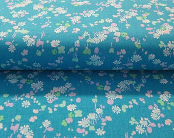 Liberty Art Fabrics Lifestyle Dorothy Blue fabric