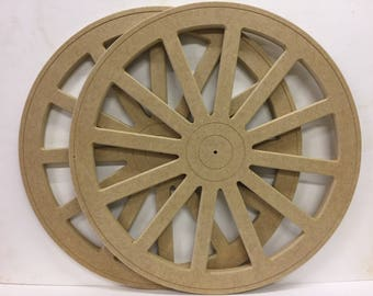 MDF Cartwheel 500mm price is for the pair