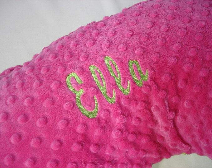 Embroidery Add-On Option - Personalize Your Changing Pad or Nursing Pillow - Brody Font