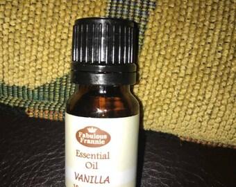 Vanilla scented oil