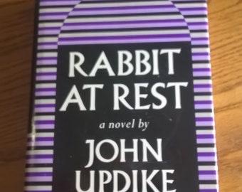 RABBIT AT REST, John Updike, 1990, Knopf--*1st Bc Edition* -- Hardcover/Dustjacket, Vintage, Modern Literature, Very Good!