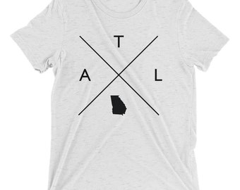 Atlanta Shirt Mens Triblend - ATL T Shirt