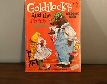 Goldilocks and the Three Bears Coloring Book