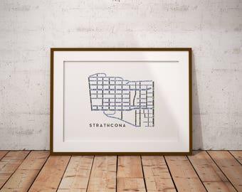 Strathcona Map