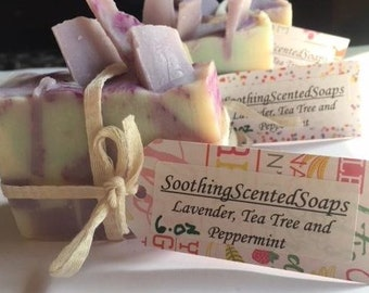 Lavender, Tea Tree and Peppermint