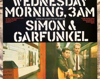 Simon & Garfunkel / Wednesday Morning, 3AM - Vinyl - Record - LP - Album - CBS 32575 - Rock - Pop - Folk