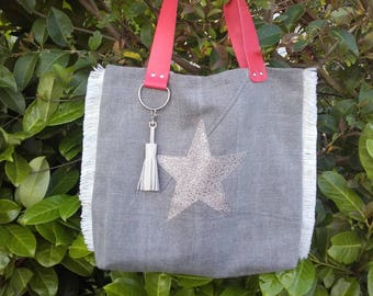 Tote bag - A little touch of orange