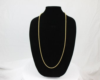 Vintage Robert Rose Gold Tone Beaded Necklace