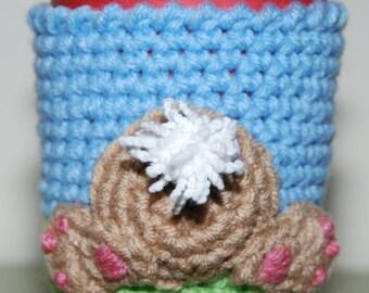 Bunny Bum Cup Cozy