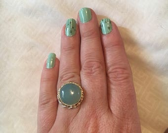 Chalcedony in Sterling Silver