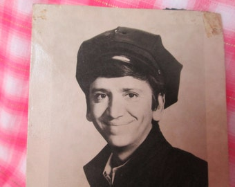 """Vintage Bob Denver Signed Photograph, from Gilligan's Island Fame, Black and White """"Rufus"""", 1960s"""