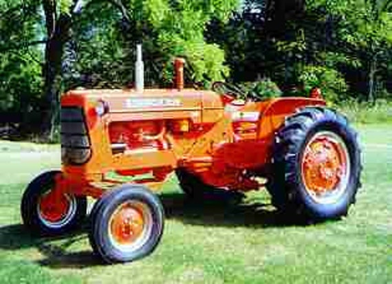 Ac Tractor Parts : Allis chalmers d complete parts manuals pg w