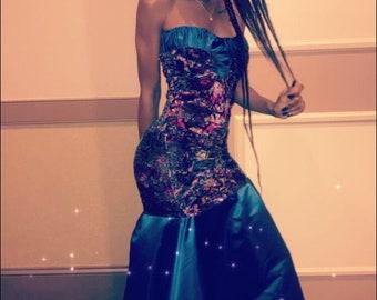Mermaid Queen Gown