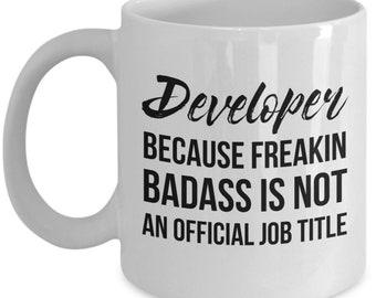 Developer Mug, Developer Gift, Developer, Gift For Developer, Personalized Developer, Graduation, Programmer Gift, Programmer Mug, Funny