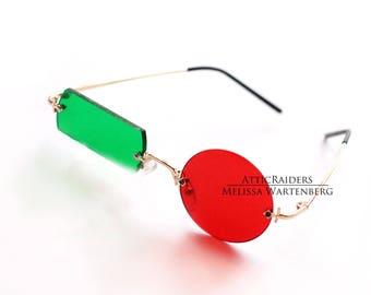 Transmetropolitan Glasses , Eyewear , Sunglasses , Cosplay Glasses , Cosplay , Costume Glasses , Costume , Comic Book , Comic , Geek , Nerd