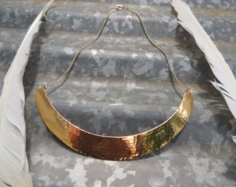 Goddess Collar Necklace | Hammered Choker >>FREE GIFT<<