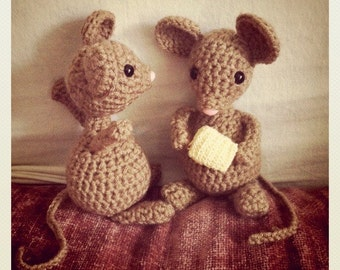Crocheted Mouse Doll