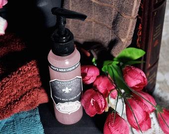 Magnolia Goat Milk Soap | Floral | Apple | Liquid soap | Goatmilk | Goats Milk Soap | Body Wash | Natural Soap | Housewarming Gift