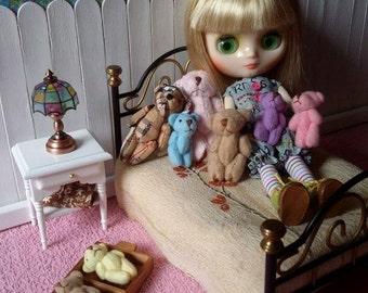 Teddy bear for Blythe and Dolls