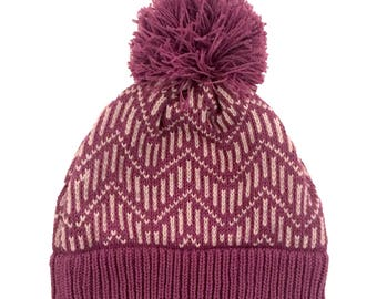 Pitkin Hat in Berry