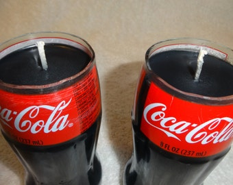 COLA SCENTED Coca Cola Bottle Candle!  Looks And Smells Like The Real Thing!  8 Oz. Bottle