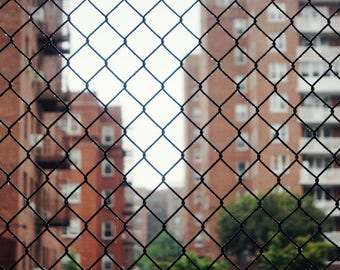 Seeing Through New York City Photography Print, Forest Hills Queens Wall Art, NYC Wall Decor