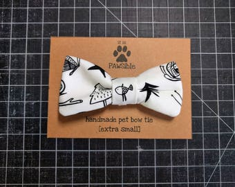 Everyday wear, outdoor adventure, camping pet bow tie, dog bow tie, cat bow tie -- [outdoorsy]