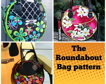Roundabout Bag - PDF Sewing  pattern