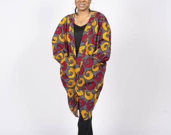 Out of Africa Kimono Jacket