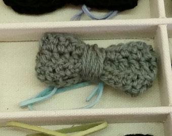 Crochet Infant Boy Bowtie