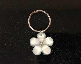 Flower Petal keychain