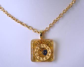 Clockwork Necklace
