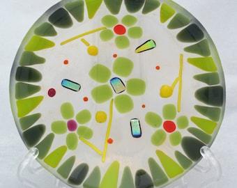 Viridia glass bowl