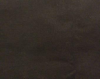 3 Yards of VIntage Black Cotton Blend Fabric