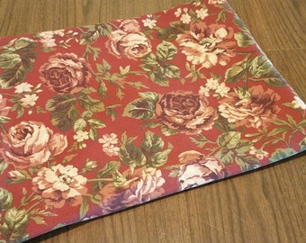 Romantic Ralph Lauren  floral rose shabby/cottage chic/ French country tablecloth free shipping U.S only!