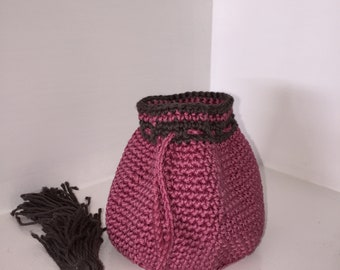 Pretty in Pink dice bag