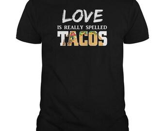 Taco Lover, Taco Shirt, Taco Love, funny tee, Taco, tacos, mexican food, funny shirt, men  taco, women taco, mayo, may
