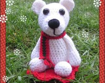 Crochet Pattern - Phillip the Polar Bear