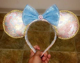 Elegant Minnie Mouse inspired Ears