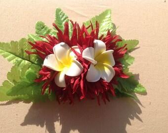 Hawaiian Flower. Perfect For Dancers, Hawaiian Hula, Beach Wedding, Luau, Bridesmaids, Flower Girls, Gifts or For Any Polynesian Events.