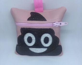 Dog Poop Bag Holder Emoticon