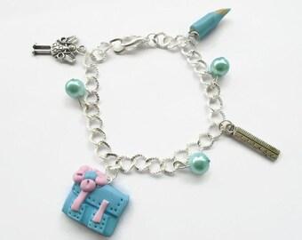 school teacher bracelet