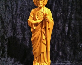 Large Vintage 1950's Saint Jude Thaddeus Statue