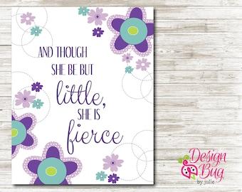 Though She Be But Little, She Is Fierce Artwork